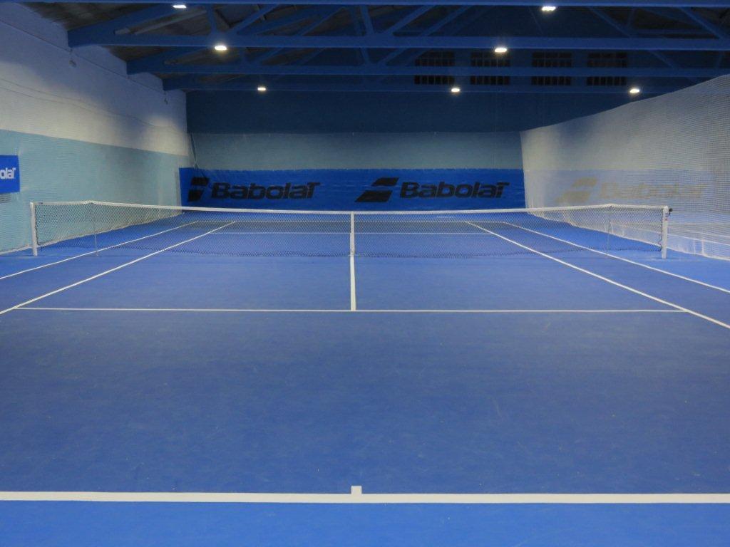Pista de tenis en Segovia