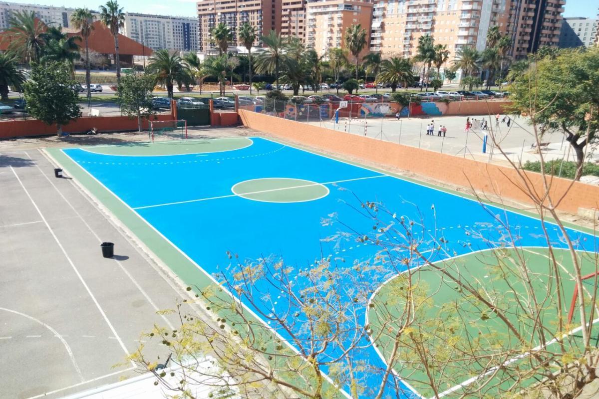 Sportplus en IES Baleares (Valencia)