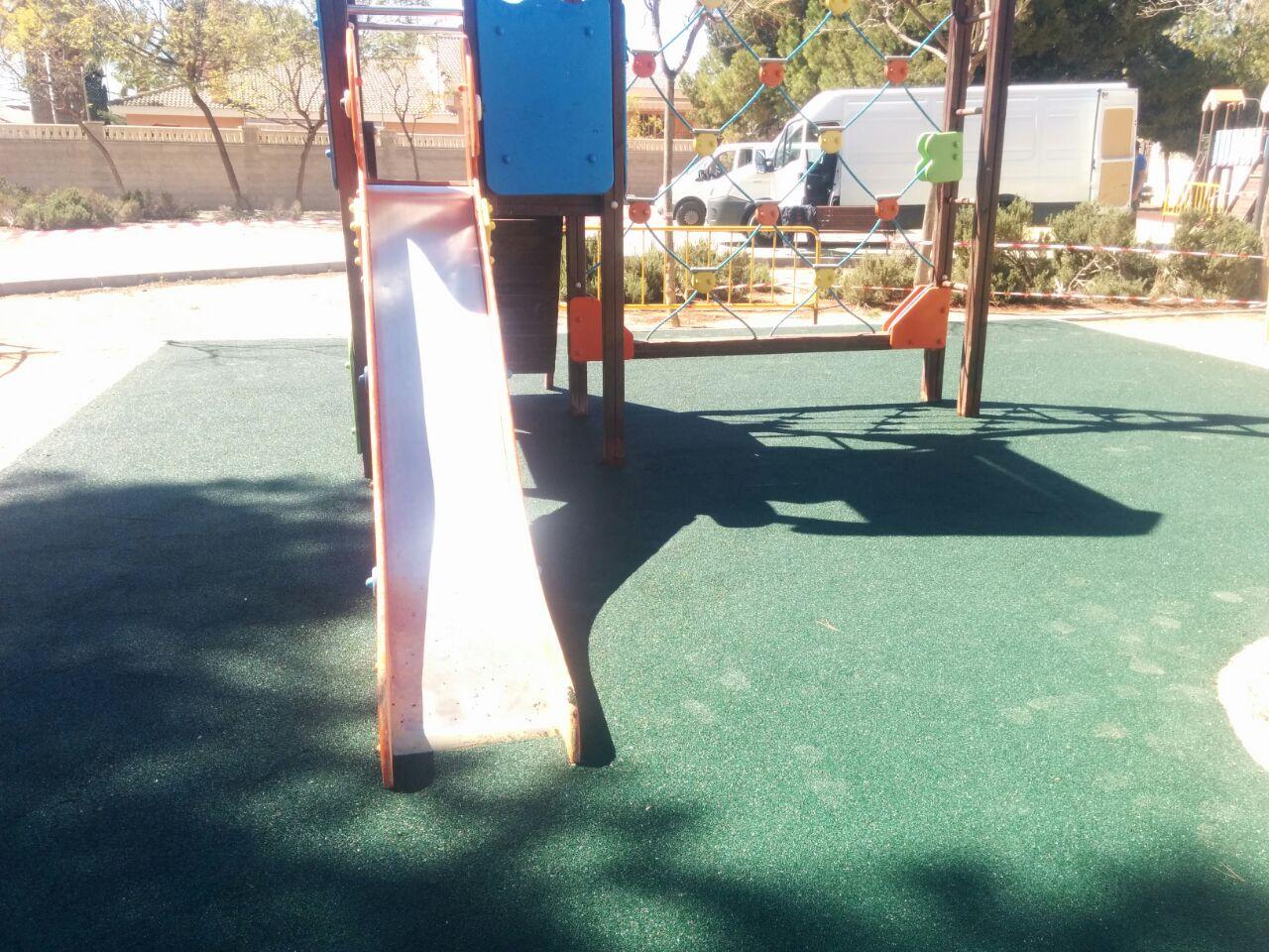 Conversión de un parque infantil en Muchamiel