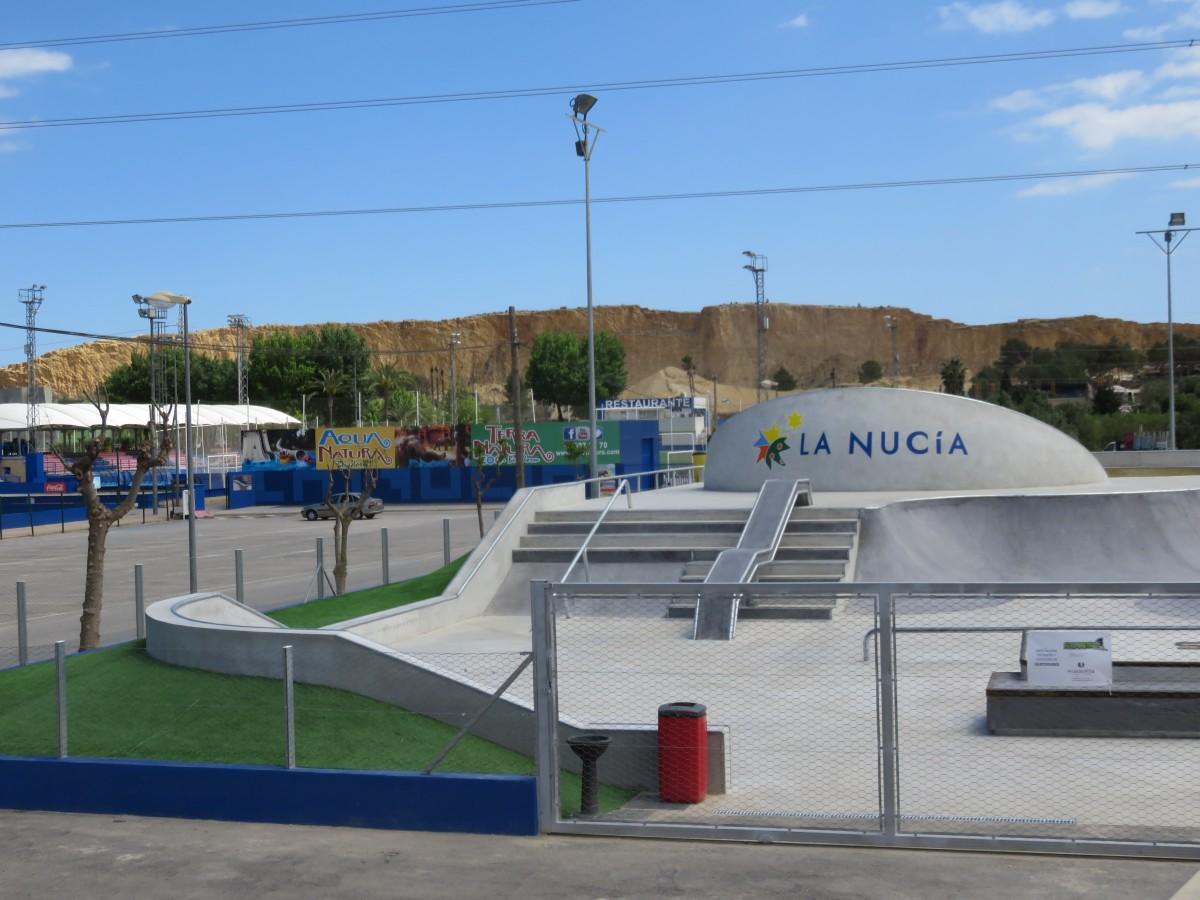 Skate Park en La Nucía (Alicante)