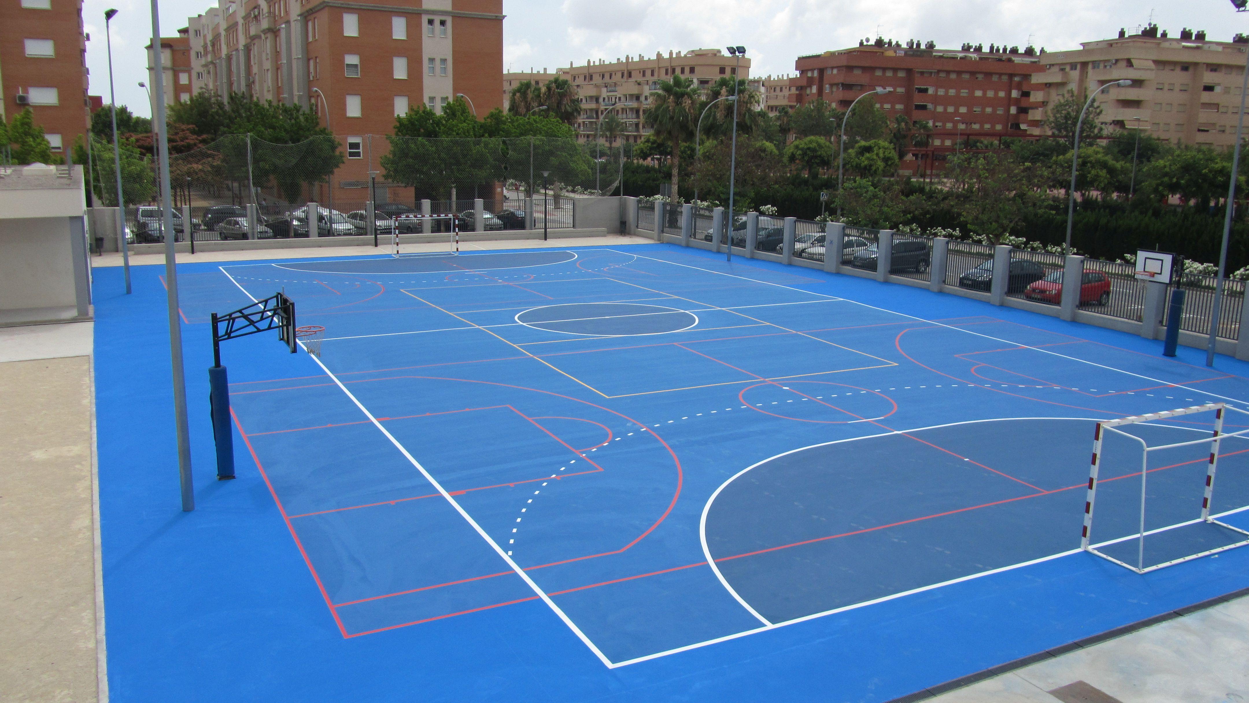 Remodelación pavimento Colegio Mariano Benlliure en Aldaia