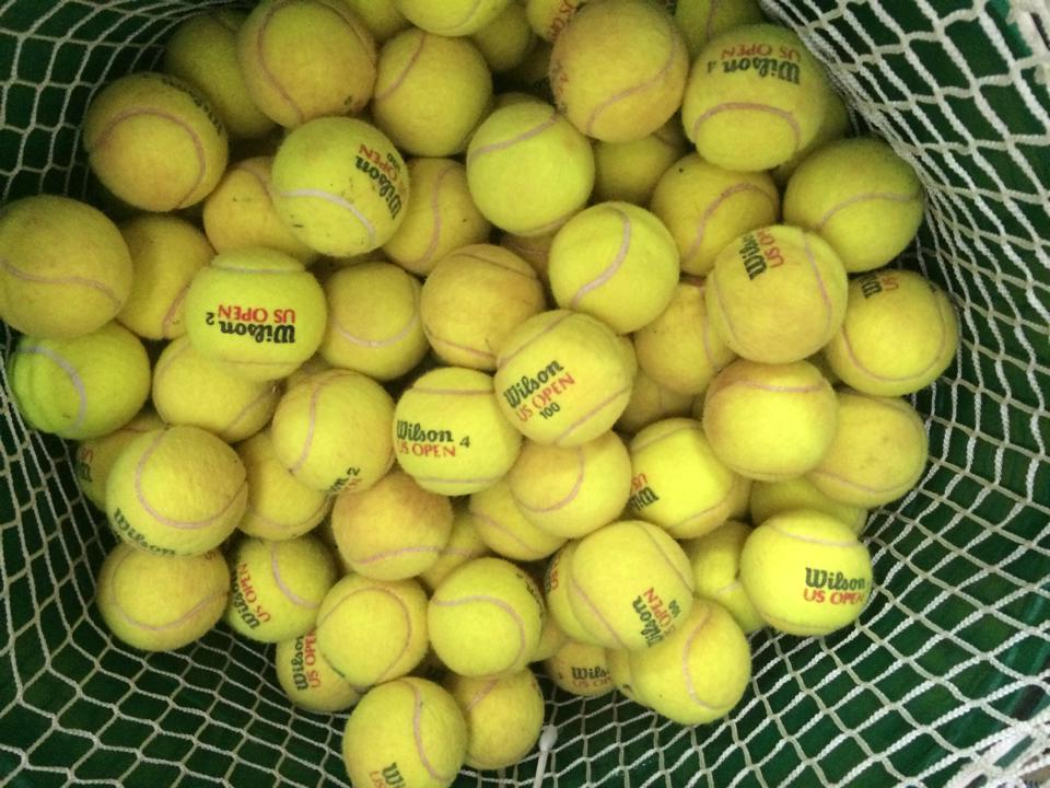 Diez ideas para reciclar pelotas de tenis y pádel
