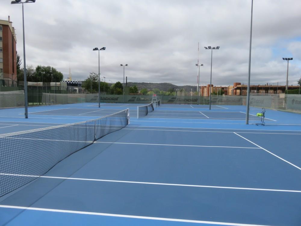 Tres pistas Tenislife Cushion para el Club Nuevo Tenis Cuenca