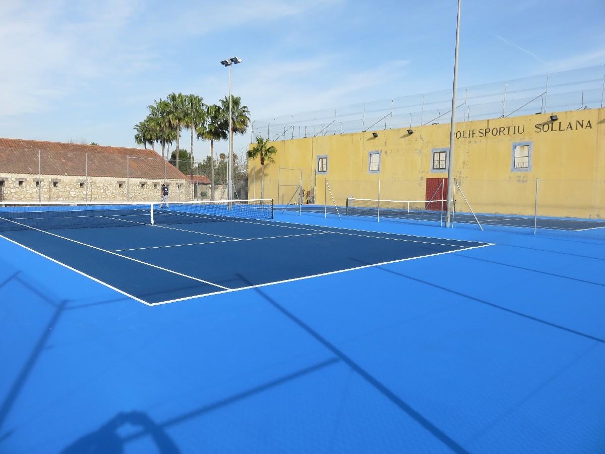 2 Pistas Tenislife en Sollana (Valencia)