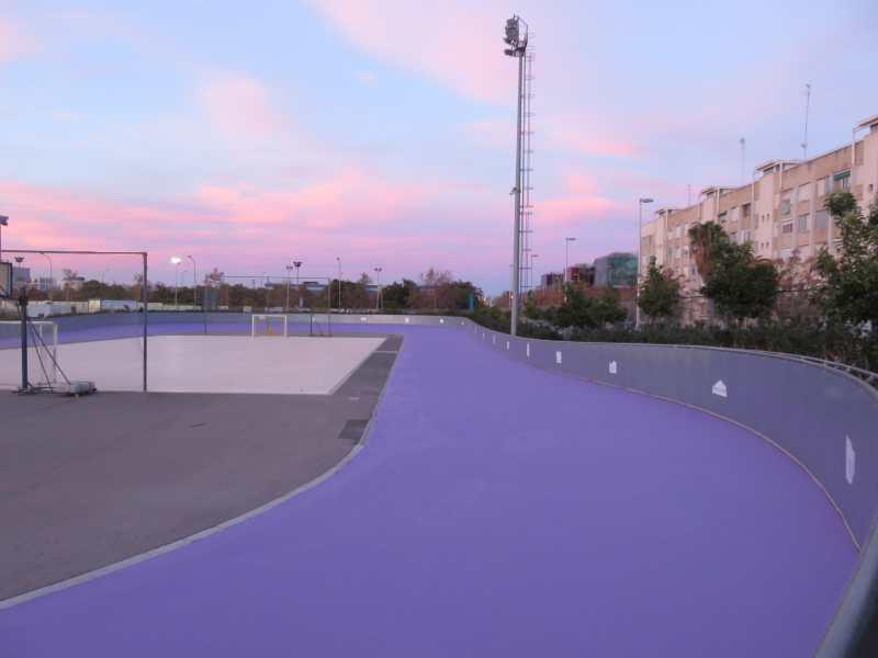 Estreno de la Pista de Patinaje en Línea en Beteró (Valencia) con el Campeonato de España cadete