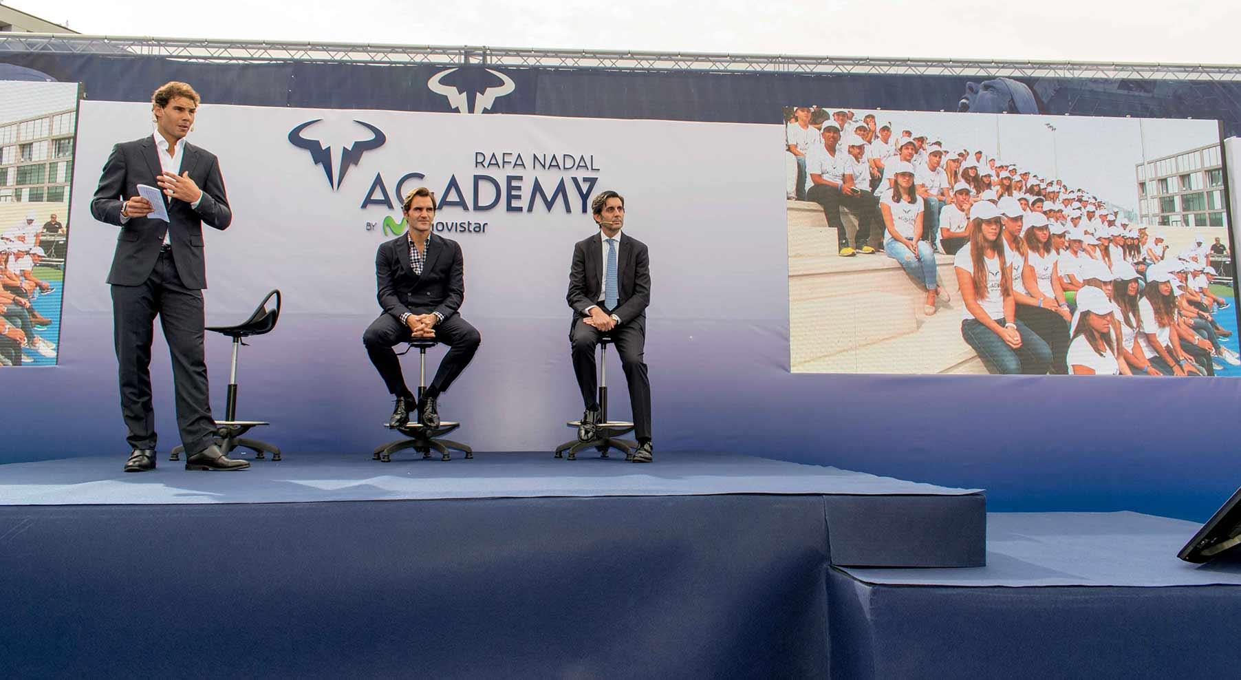 Programa completo emitido en Teledeporte sobre la Academia de tenis de Rafa Nadal
