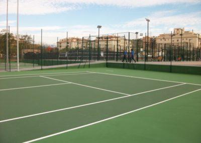 4 Pistas Tenislife en Polideportivo El Cónsul (Málaga)