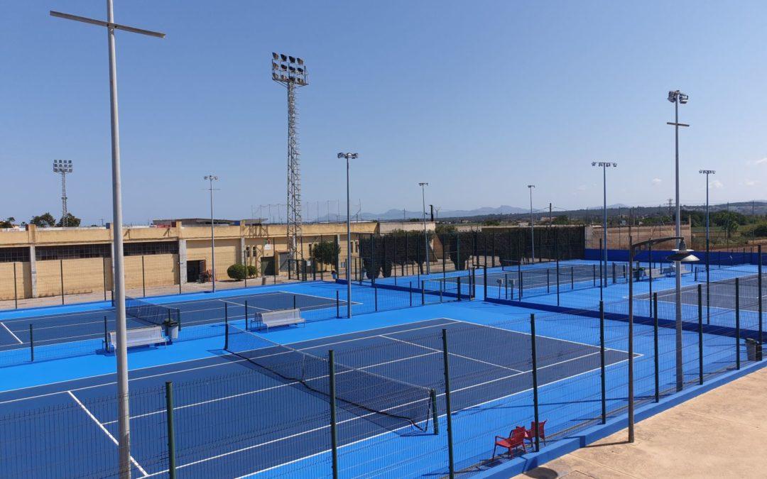 4 Pistas Global Grass Tenislife para el Ayuntamiento de Sa Pobla (Palma de Mallorca)