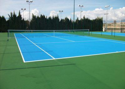 Pistas Tenislife en Polideportivo El Vincle (Campello)